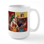 Santa's Shar Pei Large Mug