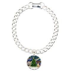 Christmas Magic & Shar Pei #2 Bracelet
