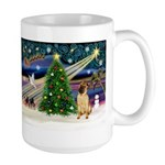 Christmas Magic & Shar Pei #2 Large Mug