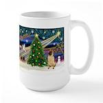 Christmas Magic & Shar Pei #2 Large Mug