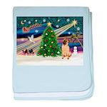 Christmas Magic & Shar Pei #2 baby blanket
