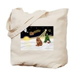Night Flight/Chow #2 Tote Bag