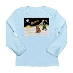 Night Flight/Chow #2 Long Sleeve Infant T-Shirt