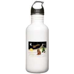 Night Flight/Chow #2 Water Bottle