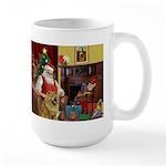 Santa's Chow Chow Large Mug