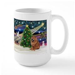 Xmas Magic & Chow Large Mug