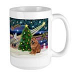 Xmas Magic & Chow Large Mug