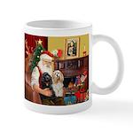Santa's 2 Cockers Mug