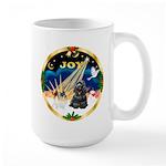 XmasSunrise/Cocker Large Mug