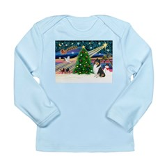 Xmas Magic & Collie Long Sleeve Infant T-Shirt