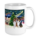 Xmas Magic & Collie Large Mug