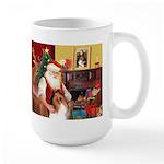 Santa's Collie Large Mug