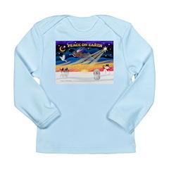 XmasSunrise/Coton #1 Long Sleeve Infant T-Shirt