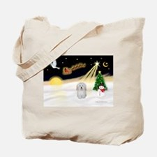 Night Flight/Coton #1 Tote Bag