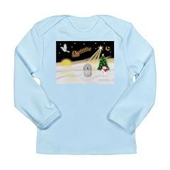 Night Flight/Coton #1 Long Sleeve Infant T-Shirt