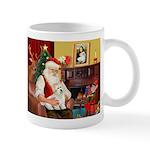 Santa's Coton de Tulear Mug