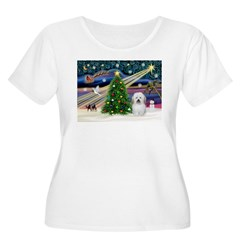 Xmas Magic & Coton De Tulear T-Shirt