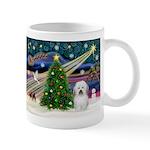 Xmas Magic & Coton De Tulear Mug