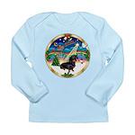 XmasMusic 3/Dachshund 17 Long Sleeve Infant T-Shir