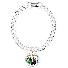 XmasMusic1/Dachshund #17 Bracelet