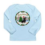 XmasMusic1/Dachshund #17 Long Sleeve Infant T-Shir