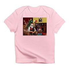 Santa's Dachshund (BT) Infant T-Shirt