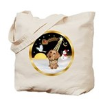 Night Flight/Dachshund #11 Tote Bag