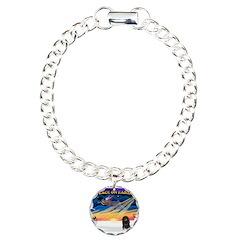 XmasSunrise/Dachshund (LH) Bracelet