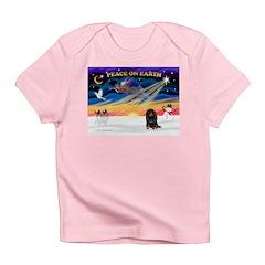 XmasSunrise/Dachshund (LH) Infant T-Shirt