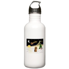 NIGHT FLIGHT<br>&Dachshund LH Water Bottle