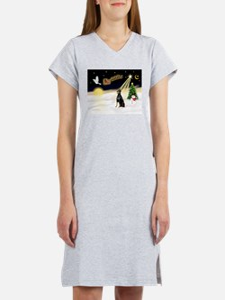 Night Flight/Dobie #1 Women's Nightshirt