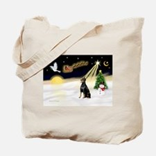 Night Flight/Dobie #1 Tote Bag