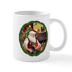 Santa's Doberman Pinscher Mug