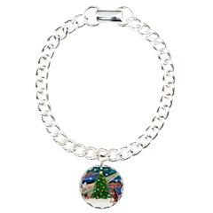 Xmas Magic/Red Dobie Bracelet
