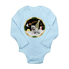 Night Flight/EBD #1 Long Sleeve Infant Bodysuit