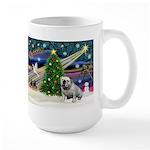 Xmas Magic & Bulldog Large Mug