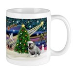 Xmas Magic & Bulldog Mug