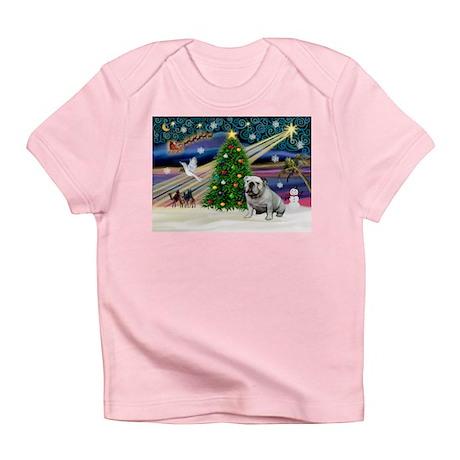Xmas Magic & Bulldog Infant T-Shirt
