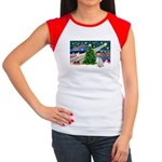 XmasMagic/English Setter Women's Cap Sleeve T-Shir