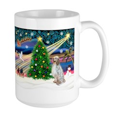 XmasMagic/English Setter Large Mug