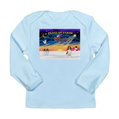 XmasSunrise/Eng Springer Long Sleeve Infant T-Shir