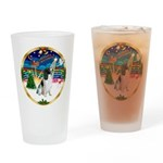 XmasMusic 3/Eng Springer #8 Drinking Glass
