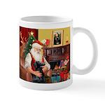 Santa's Flat Coat R Mug
