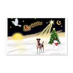 Night Flight/Fox Terrier 5 22x14 Wall Peel