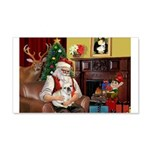 Santa's French BD (1) 22x14 Wall Peel