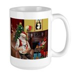 Santa's French BD (1) Large Mug