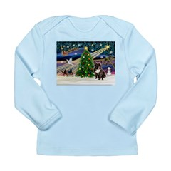 XmasMagic/French BD (br) Long Sleeve Infant T-Shir