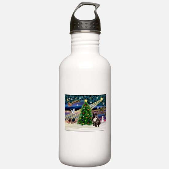 XmasMagic/French BD (br) Water Bottle