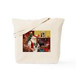 Santa's G-Shepherd (#8) Tote Bag