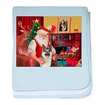 Santa's G-Shepherd (#8) baby blanket